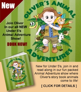 Oliver's Animal Adventures under 5's show book